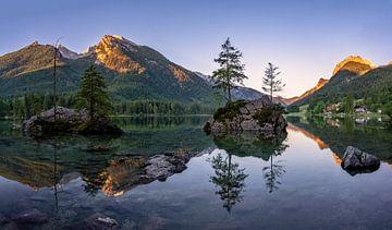 Sonnenaufgang im Berchtesgadener Land von Achim Thomae