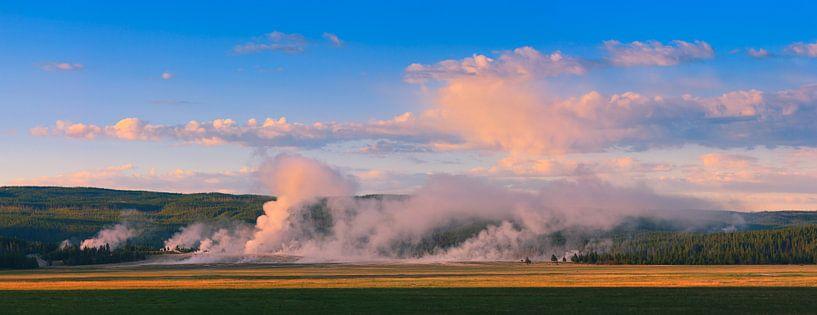 Yellowstone National Park, Wyoming, USA van Henk Meijer Photography