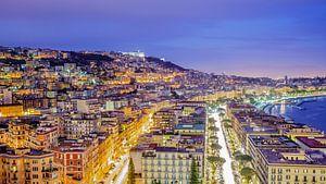 Napels, uitzicht over de stad - Napoli, view of the city