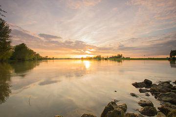 rivier De IJssel van Jan Koppelaar