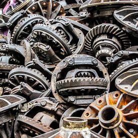 Auto-onderdelen  (Tandwielen) van Stijn Cleynhens