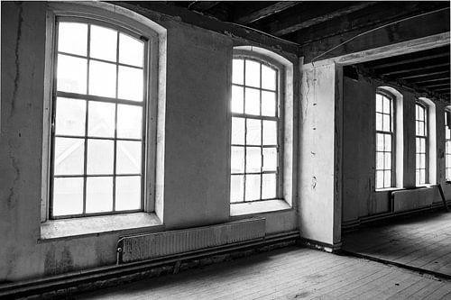 Verlaten schoolgebouw interieur
