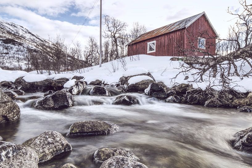 Fischerhütte von Michael Wolf