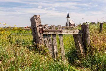 Kerk Den Hoorn Texel van Ronald Timmer