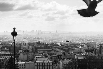 Daken van Parijs vanaf Montmartre van Jeroen Savelkouls Fotografie