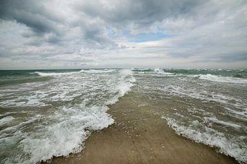 Noordzee ontmoet Baltische zee / Oostzee von Ellis Peeters