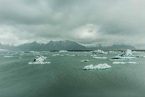 gletsjer meer van