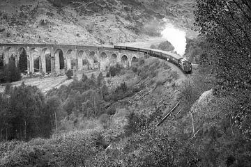 The Jacobite Steam Train van Eriks Photoshop by Erik Heuver