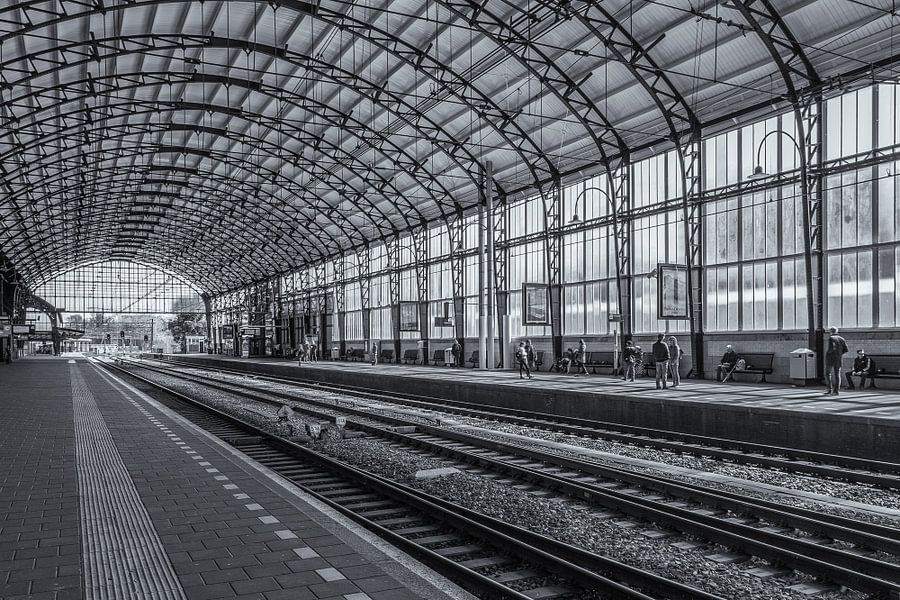 Haarlem - Centraal Station - 1 van Tux Photography