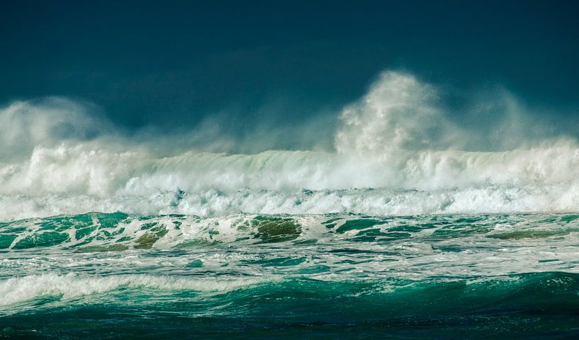 Grote Groene Golf, Great Ocean Road, Australië van Sven Wildschut