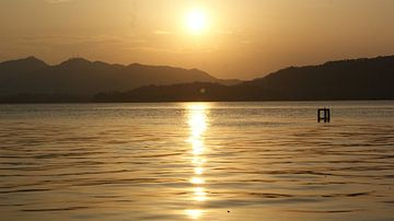 Sonnenuntergang, China Hangzhou von Oscuro design