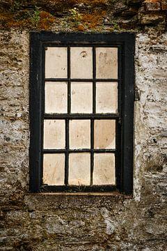 Altes Fensterglas von Licht! Fotografie