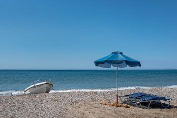 Strand Votsalakia - Samos van Rinus Lasschuyt Fotografie