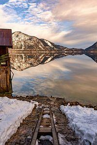 Walchensee im Winter