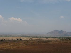 'Vlakte en berg', Tanzania van