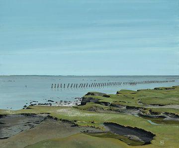 Salzwiesen des Wattenmeers von ArtCatcher.nl