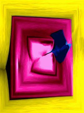 Abstract Naakt I van McRoa