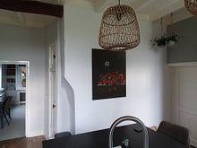 Klantfoto: Adriaen Coorte, Stilleven met bosaardbeien, op xpozer