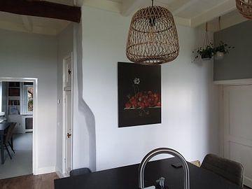 Kundenfoto: Adriaen Coorte, Stillleben mit Walderdbeeren