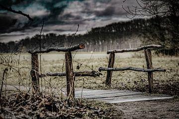 Die holzbrücke von n.Thi Photographie