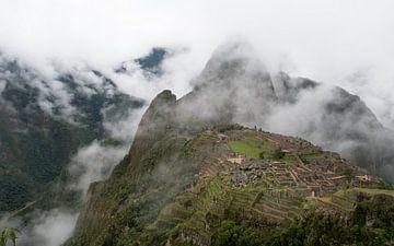 Magisches und mystisches Machu Picchu (ohne menschen) von Niki Radstake