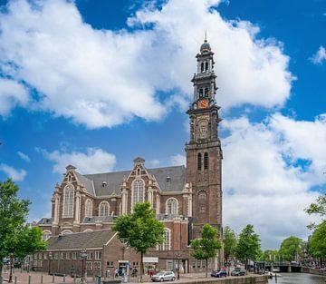 Die Westertoren in Amsterdam von Ivo de Rooij