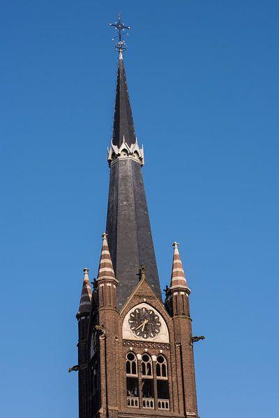 Kerktoren Liduina Basiliek, Schiedam van Jan Sluijter