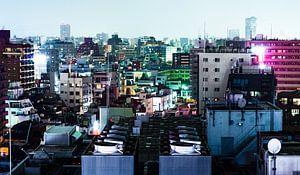 Tokyo Buidlings von Meneer Bos