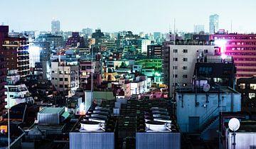 Tokyo Buidlings van Meneer Bos