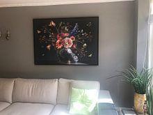Kundenfoto: Königliche Schönheit Blume Stillleben von Sander Van Laar, auf leinwand
