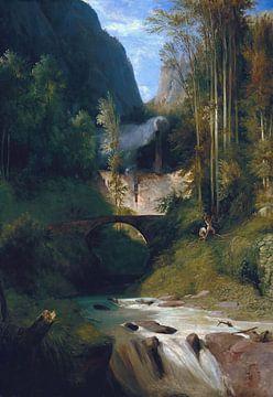 Carl Blechen-Schlucht bei Amalfi