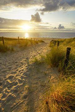 Plage, mer et soleil sur Dirk van Egmond