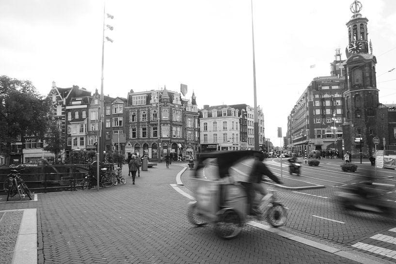Muntplein Amsterdam van Menno Bausch