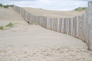 Dünen, Strand in Zandvoort von Wendy Tellier - Vastenhouw