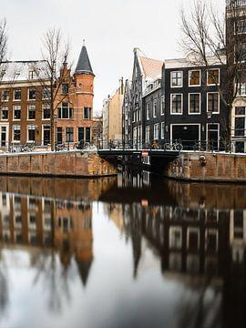 Herengracht-Kanal, Amsterdam von Lorena Cirstea
