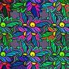 GRAFISCHE PRINT MOTIEF VAN BLADEREN van MY ARTIE WALL thumbnail