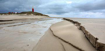 Vuurtoren Eierland Texel van Ronald Timmer