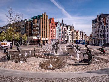 Altstadt im Zentrum von Rostock von Animaflora PicsStock