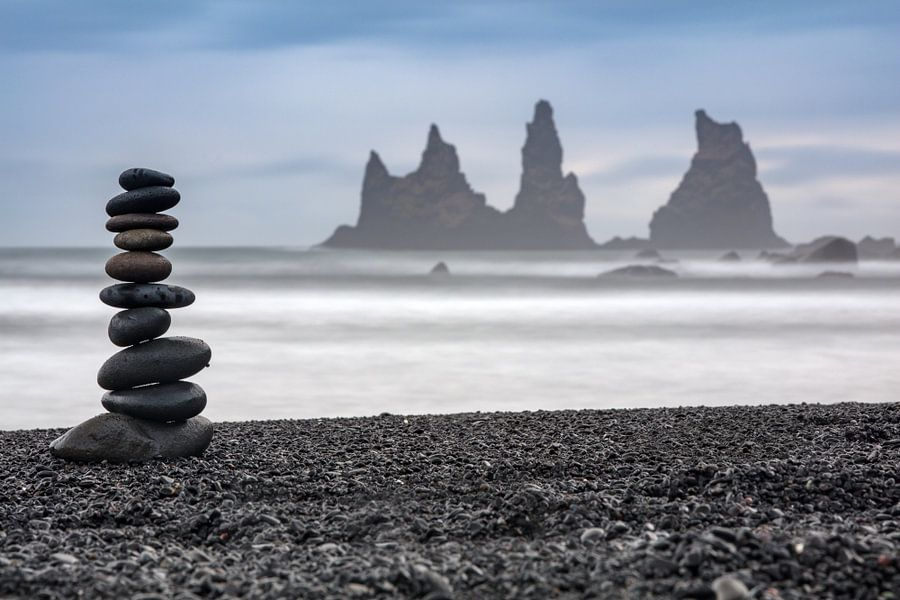 Stoamandl auf Island von Andreas Müller