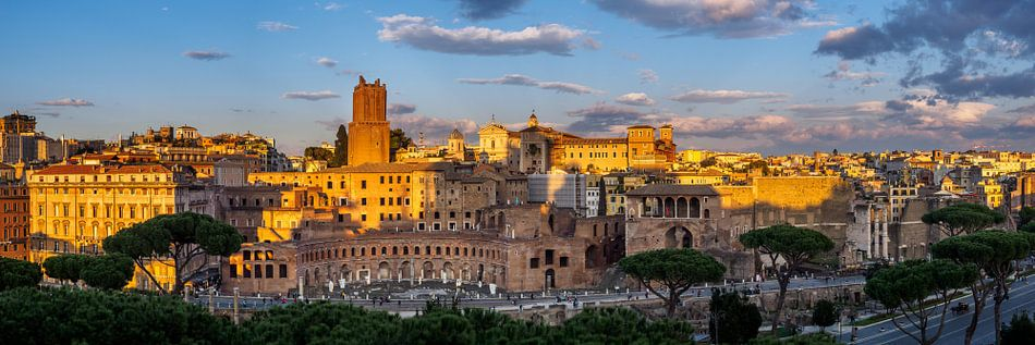 Piazza Foro Traiano, Torre delle Milizie, Mercati di Traiano van Teun Ruijters