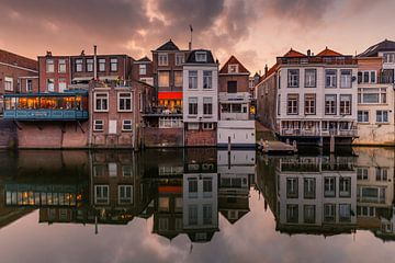 Huisjes in Gorinchem von Marcel Tuit
