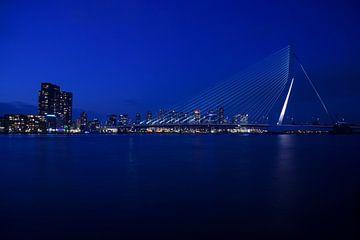 Rotterdam Erasmusbrug nacht von Ying Chen