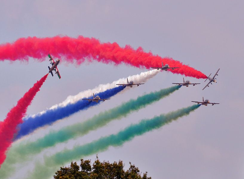 Aerobatics team van Rogier Vermeulen