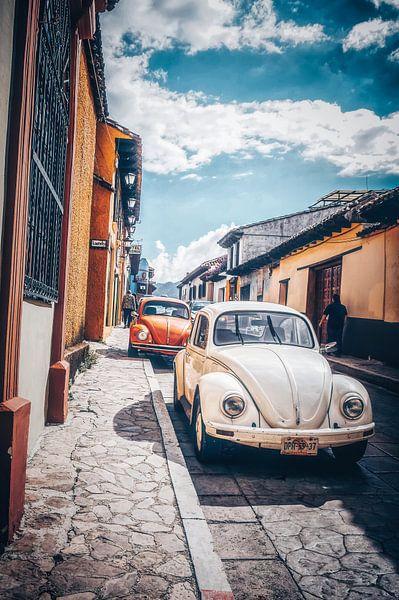 Herbie in San Cristobal - Mexico van Joris Pannemans - Loris Photography