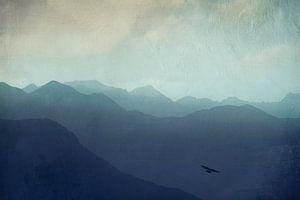 Mountain haze - Swiss Alps