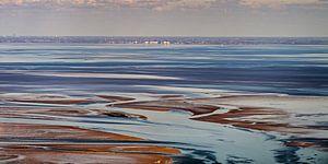 Harlingen, haven aan de Waddenzee