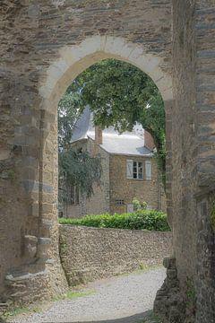 Doorkijkje bij kasteel Chateaubriant van Danny Vandebosch