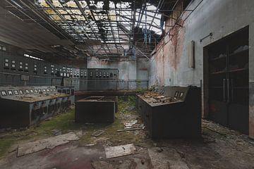 Salle de contrôle abandonnée sur Perry Wiertz