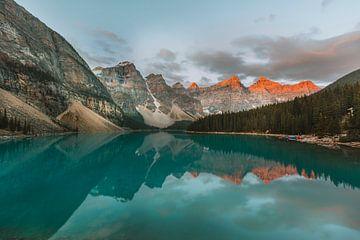 Moraine Lake Banff National Park van Maikel Claassen Fotografie