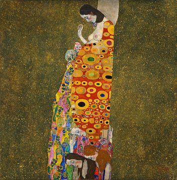 Gustav Klimt. De Hoop, 1905 sur